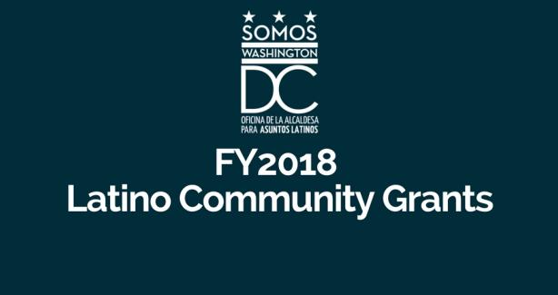 FY18 Latino Community Grant