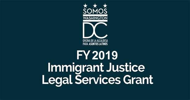 Immigrant Justice Legal Services Grant FY 2019