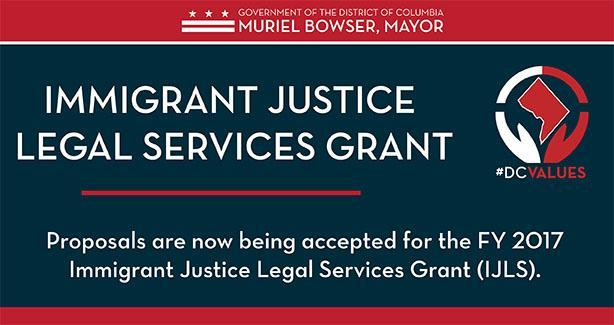 Immigrant Justice Legal Services Grant FY 2017